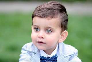 Objektiv für Portrait-Fotografie - hier ein Junge