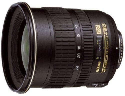 Nikon AF-S DX Zoom-Nikkor 12-24mm 1:4G IF-ED Objektiv (77mm Filtergewinde) -