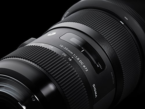 Sigma 18-35mm F1,8 DC HSM (Filtergewinde 72mm) für Pentax Objektivbajonett schwarz -