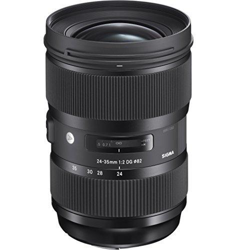 Sigma 24-35 mm F2,0 DG HSM Objektiv (82 mm Filtergewinde) für Canon Objektivbajonett schwarz -