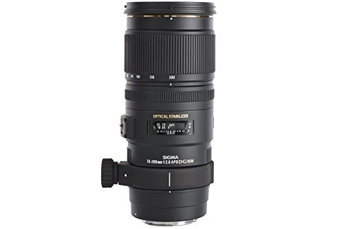 Sigma 70-200 mm F2,8 EX DG OS HSM-Objektiv (77 mm Filtergewinde) für Nikon Objektivbajonett -