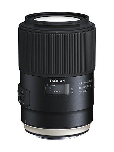Tamron F017E SP 90 mm F/2.8 Di Macro, 1:1 VC USD Canon Kamera-Objektive -